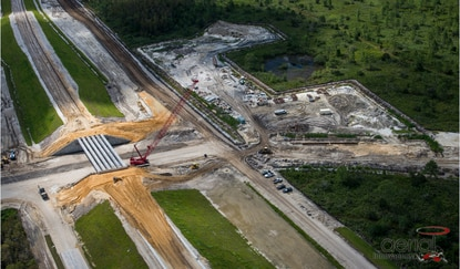 Poinciana Parkway, now under construction, is part of the 60-mile beltway system planned by the Osceola County Expressway Authority