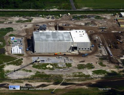 The Florida Advanced Manufacturing Research Center is scheduled to open in 2017. It's the centerpiece of Osceola County's 500-acre Florida Tech Farm research park, and the county is looking for a developer to build 100,000 square feet of office space on the site.