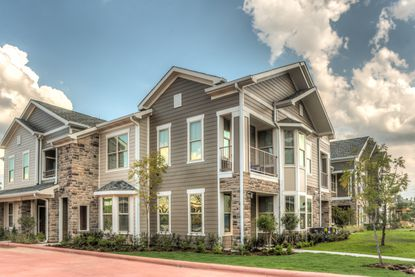 """The new apartment community in Kissimmee will feature 60 """"Big House"""" style residential units with private garages."""