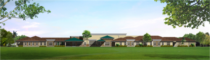 A rendering showing part of the Certus Senior Living's new 43,000-square-foot prototype building it will develop for specialized Alzheimer's care in four cities in Central Florida.