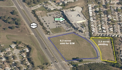 Publix outparcel in Clermont sold at auction for over $2 million