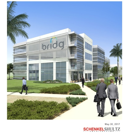 Osceola County approved a contract with SchenkelShultz Architecture on Oct. 2 for a Class B+ office building at NeoCity. But county officials couldn't agree to terms with their preferred builder, Skanska USA, which completed the BRIDG building earlier this year.