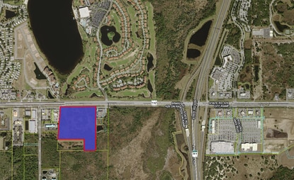 A 23-acre parcel near Disney that's already approved for 342 apartments and four outparcels could be off the market.