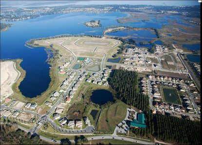 M/I Homes is in the middle of selling new homes on John's Lake in southwest Winter Garden.