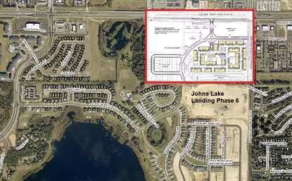 The new developer is seeking the second revision in less than a year for the Johns Lake Landing Planned Unit Development.