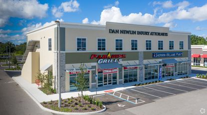 SunDev Realty completed this nearly 16,000-square-foot commercial building in 2019 and sold it fully leased.