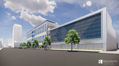Orlando's Appearance Review Board requested changes to the parking garage planned to go in next to the WSSA building at 500 N. Orange Ave.