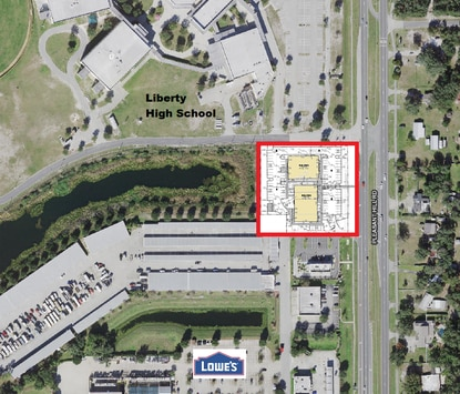 The construction plans for Blake's Landing in Poinciana call for a multi-tenant retail building and a medical office.