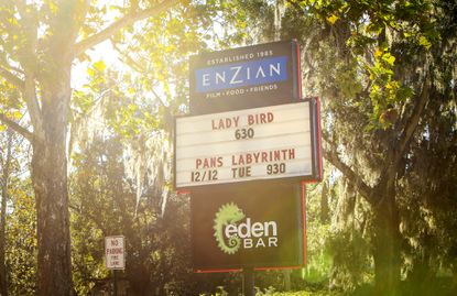 Plans to add two new theaters to the popular Enzian Theater in Maitland have hit snags, as neighbors have complained about parking and traffic concerns in the area. Photographed December 2017.