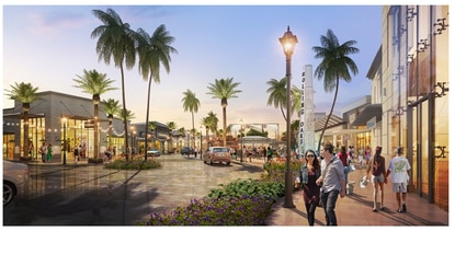 Margaritaville Resort released this rendering of its future retail and entertainment complex on Kissimmee's W192 corridor.