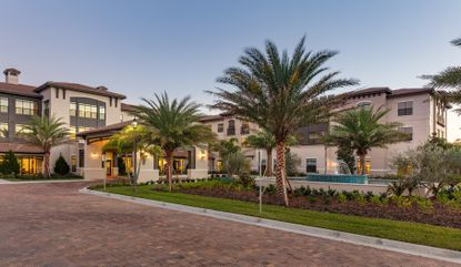 A photo of the HarborChase of Dr. Phillips senior living community.