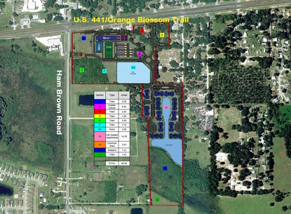 Kissimmee-based Southcrest Management is planning a mixed-use project with commercial parcels, a K-8 charter school and 335-unit apartment complex.