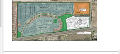 Polk County's Planning Commission approved a developer's request to build 252 vacation rental townhomes (white) at the southwest corner of the Tierra Del Sol resort on U.S. 27.
