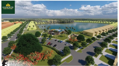 Hanover Family Builders would offer a mix of townhomes and detached homes in its newest subdivision, Cypress Hammock. Amenities would include a pool with cabana, playground and multipurpose field.