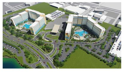 Universal files detailed design plans for second hotel on former Wet 'n Wild site
