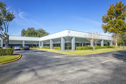The 196,000-square-foot Orlando International Business Center consists of six single-story office/flex buildings.