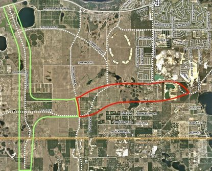 PD&E bids sought for extension of Lake County's C.R. 455 to Wellness Way