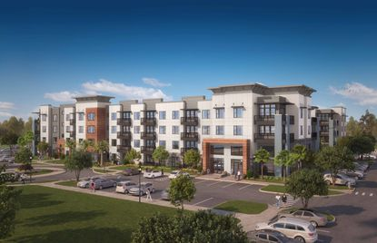 Fore Property Company will build a 384-unit apartment community called 19 South on the land it bought Monday from Tupperware.