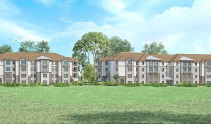 A rendering of the Marden Ridge Apartments, set on Marden Road in Apopka roughly a mile away from the new $203 million-Florida Hospital Apopka site.