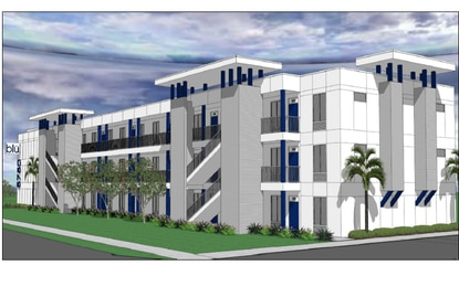 Trident Property Group is planning to build a 72-unit apartment complex in east Orlando where 90% of the units will be affordable housing.