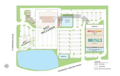 A marketing image offers a glimpse of new retail space to be added to Piedmont Plaza.
