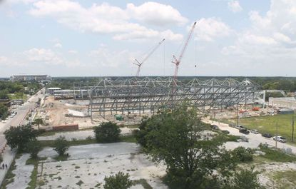 An update from the live construction camera for Orlando City Soccer Club's new stadium, as of June 27.