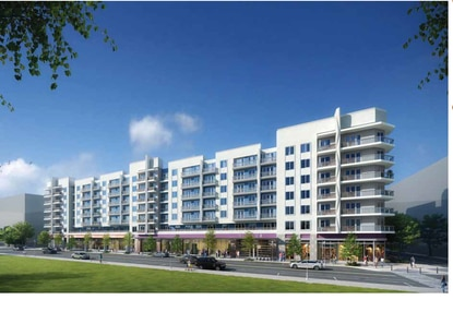 Mill Creek tweaks design for Modera apartments at Creative Village