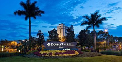 The Doubletree by Hilton Orlando at Seaworld, on South International Drive.