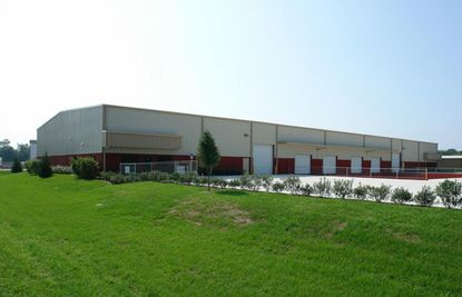 A view of the industrial building in Sanford recently acquired by The Ice Man company.
