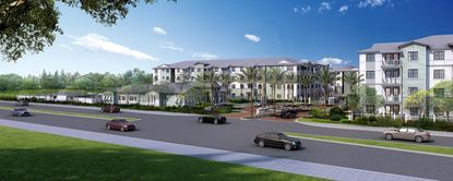 The Enclave at 3230 is considered to be the first apartment project in South Daytona in three decades. Ground was broken in May.