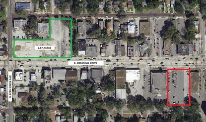 National fuel station chain brings downtown Orlando lot under contract