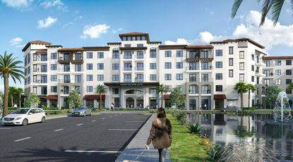 Aventon Companies is building a 247-unit apartment community next to Lake Gem in Maitland.