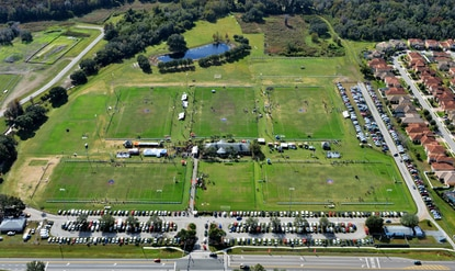Osceola County is looking to hire a design firm for an expansion at Austin-Tindall Regional Park, including a new soccer stadium.