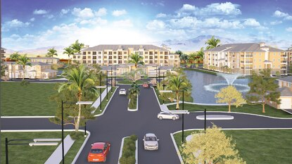 SunPark Company has building permits in place for Champions Vue Apartments on U.S. 27 next door to ChampionsGate.