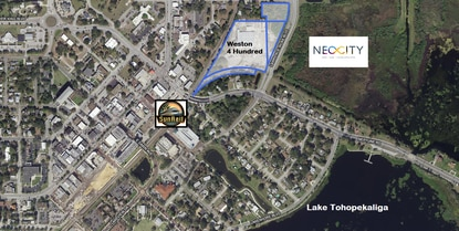 Wendover Housing Partners has filed plans for a 206-unit apartment complex a 5-minute walk from the Kissimmee SunRail station.