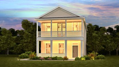 """Meritage Homes' new Oakland Trail community will have 305 lots, half of which will offer the builder's """"Bungalow"""" series, a 24-foot-wide detached product."""