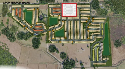 Park Square Homes will build 91 townhomes in Wiregrass, a 620-lot residential subdivision now in development on Jack Brack Road.