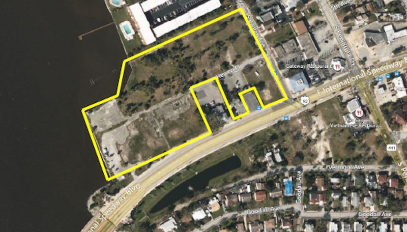 Jaymor Group affiliated company Daytona Bluetide Group LP owns about 11 acres on the northwest corner of East International Speedway Boulevard (U.S. 92) and South Halifax Avenue.