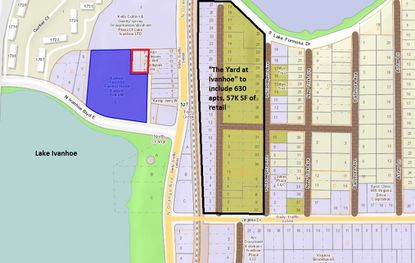 Contractor pays $6.5M for Lake Ivanhoe site planned for 9-story apt tower