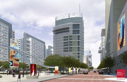 Creative Village is a mixed-use project planned for downtown Orlando where the old Amway Center use to stand.