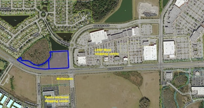 Retail developer Haresh Karamchandani is part of an investment group that just bought the 5.9-acres at Osceola Parkway and Dyer Boulevard for $2.1 million.