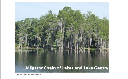 The new moratorium would apply only to properties within 1,000 feet of Alligator Lake and Lake Gentry or within 500 feet of the smaller lakes.