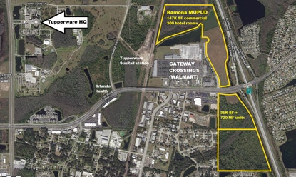 Developer applies for Mixed-Use at FL Turnpike interchange in Kissimmee