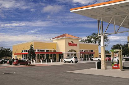 A Wawa gas station and convenience store