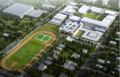The Parramore school campus will sit on 14 acres and include a Boys and Girls Clubs of Central Florida.