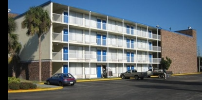 Contractor Ken Cornell will spent the next five months converting the former Palms Motel at 201 Simpson Road into an apartment building for young professionals and students.