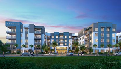 Rendering of planned apartments at the Nona Cove development off of Narcoossee Road