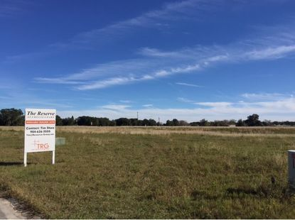 LGI recently bought 38 unfinished lots from a development group in Tavares.