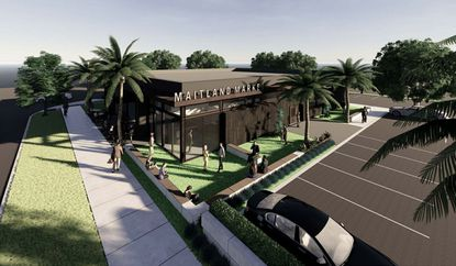 A rendering of proposed Maitland Market venue