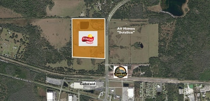 Snack food manufacturer Frito-Lay announced plans to build a high-tech service center on 75 acres the parent company bought more than a decade ago. The site is across from Osceola County's new Poinciana SunRail station.